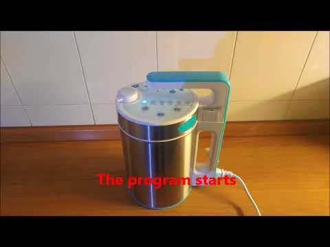 Soy milk maker Midzu model V, 2 ingredients: water and soy only