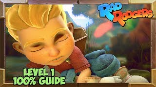 Rad Rodgers Level 1 100% Guide (All secrets and collectibles)