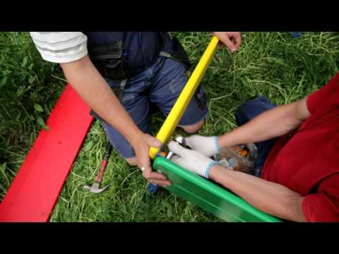 Промышленная видеосъемка: инструкция по сборке детского оборудования.
