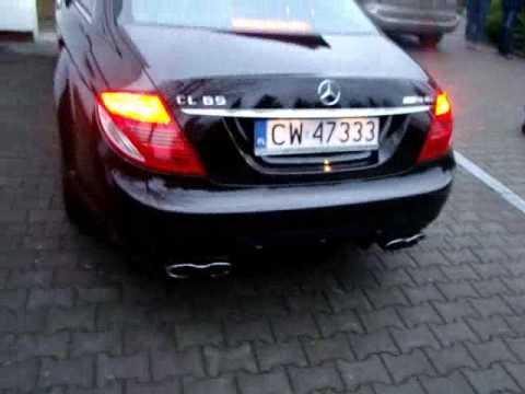 Mercedes CL 65 AMG Sound