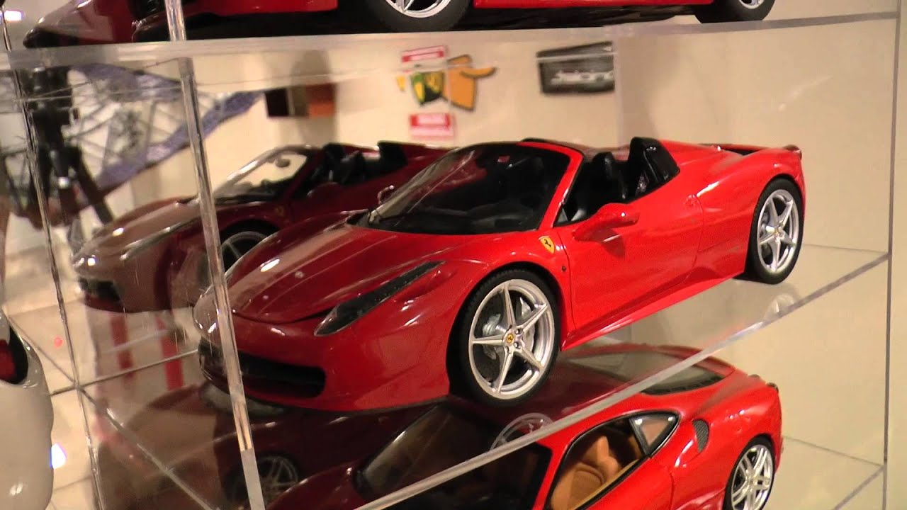 1 18 ferrari collection youtube. Black Bedroom Furniture Sets. Home Design Ideas