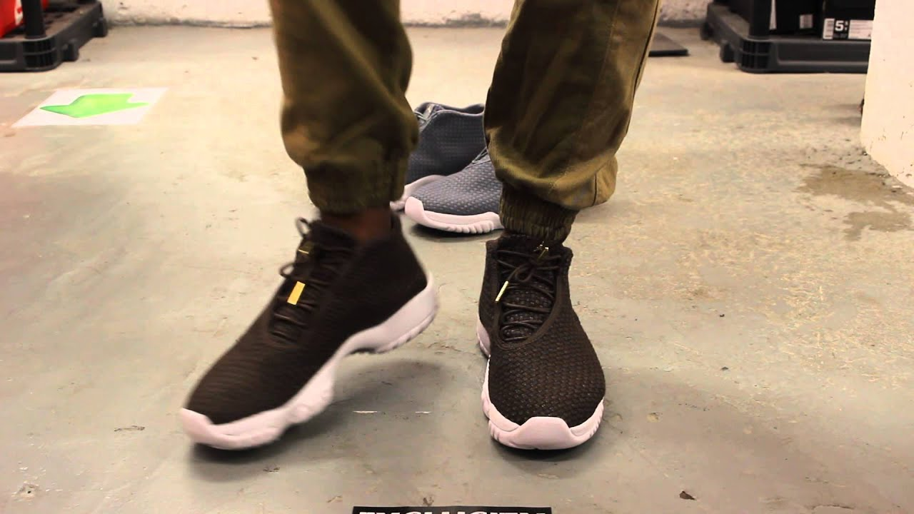 513d0699b950f9 ... coupon code for air jordan future baroque brown wool on feet video at exclucity  youtube 12454