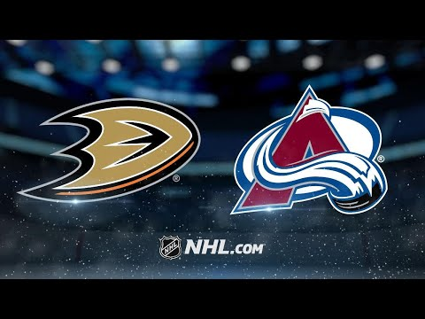 Avalanche pull ahead late to top Ducks, 3-1