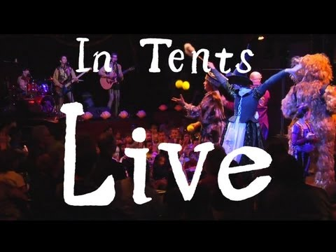 Recess Monkey - In Tents LIVE at Teatro ZinZanni