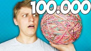 МАМИКС СДЕЛАЛ ПОПРЫГУНЧИК ИЗ 100.000 РЕЗИНОК!!!