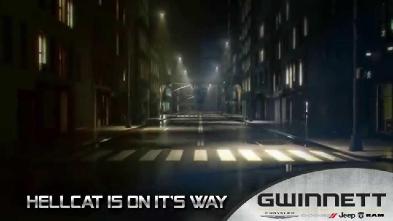 hellcat is on it 39 s way to gwinnett chrysler dodge jeep ram 0115 youtube. Black Bedroom Furniture Sets. Home Design Ideas