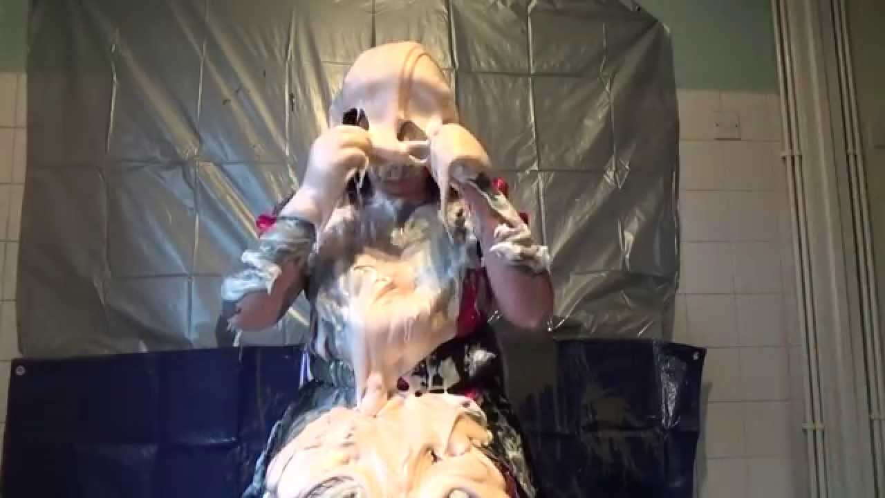 The Gunge Maid Gets Custard Pied And Gunged For You The