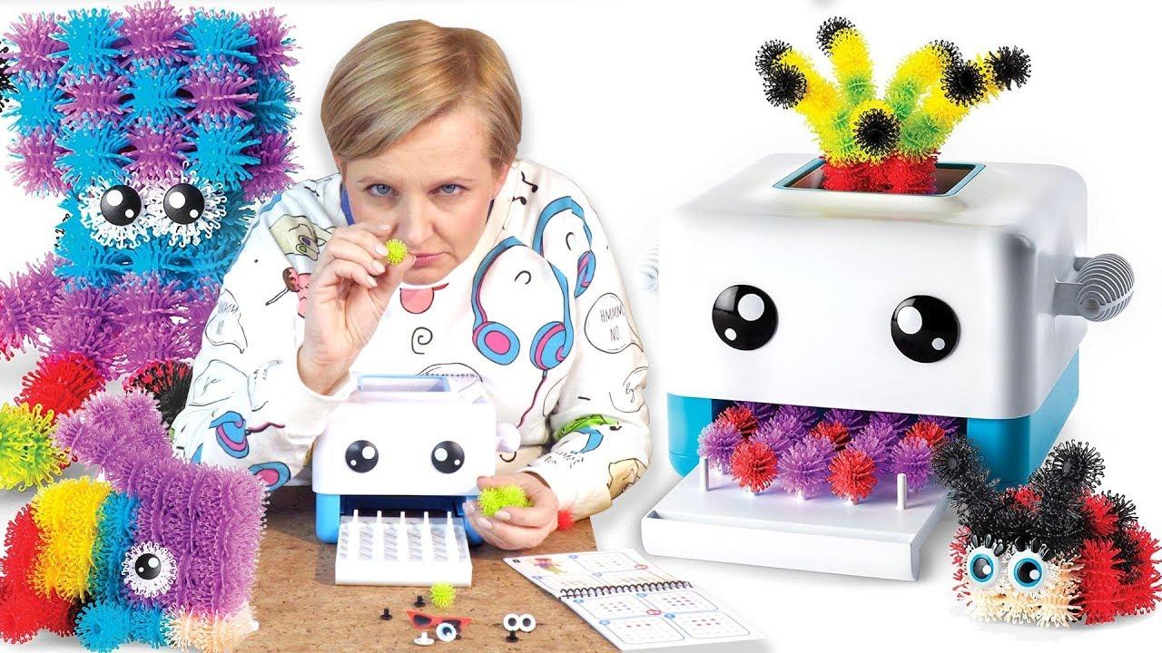 Bunchem's Bunch Bot, Drukarka Figurek 3D, Spin Master