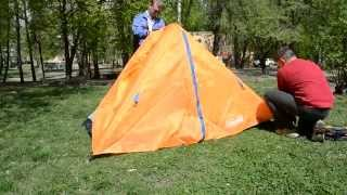 Двухместная палатка Колеман 1008(двухслойная палатка с хорошей вентиляцией., 2015-04-27T11:59:22.000Z)