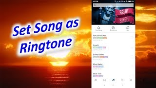 How to Set Song as Ringtone in MI Redmi Phone