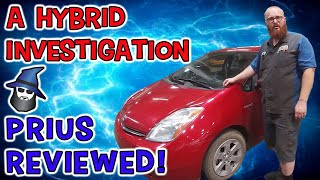 The CAR WIZARD does a complete Hybrid Investigation of a 2008 Toyota Prius