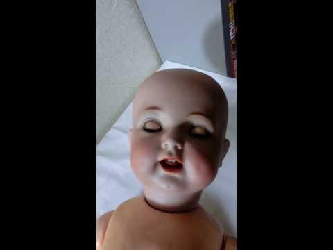 Simon & Halbig K  R  K Star R Antique Porcelain Doll 122