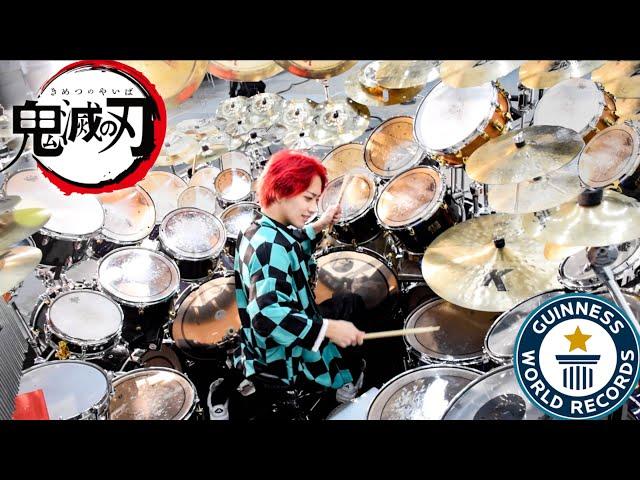ドラム 紅 蓮華