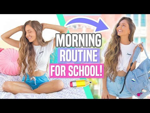 My Morning Routine For School! Back to School 2017!