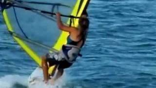how to jibe a windsurf :)