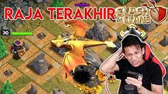 SERAM ! Raja Terakhir COC ! Naga Emas Raksasa (Giant Gold Dragon)