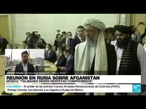 Download Informe desde Moscú: Rusia recibe a los talibanes para conversar sobre seguridad y política