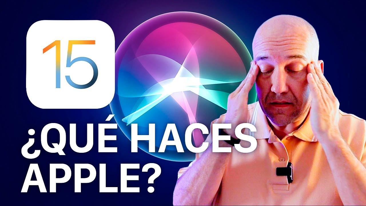 Malas noticias si usas Siri en iOS 15