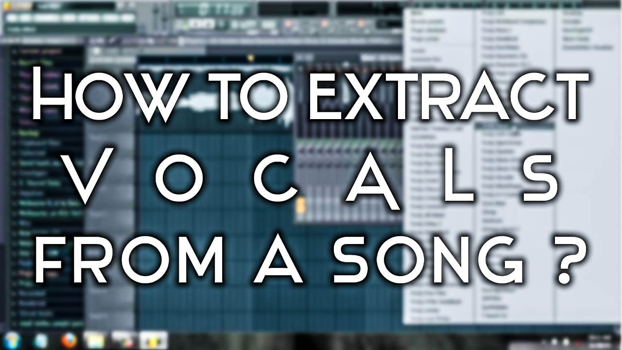 How to remove instruments from a song using extra boy vst fl.