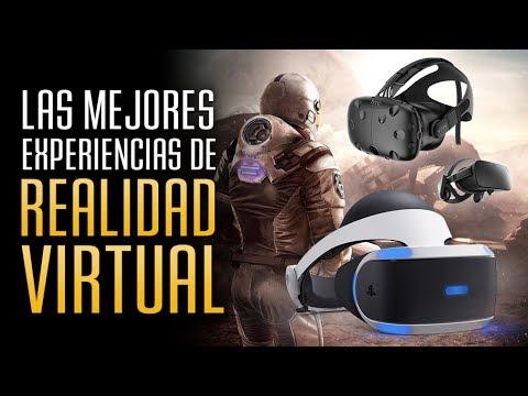 Realidad Virtual Los Mejores Juegos Y Experiencias Youtube