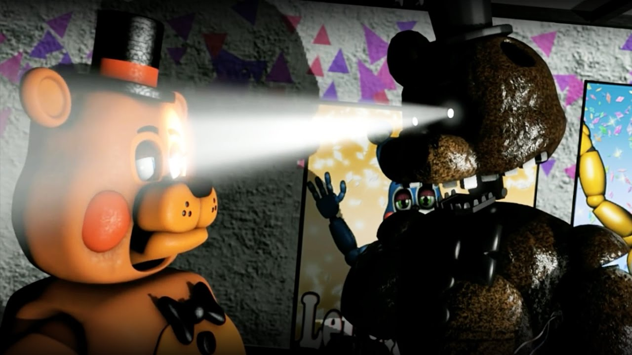 [SFM FNAF] Don't mess with Ignited Freddy - YouTube