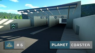 Planet Coaster: Ep. 6: Rebuild: Tunnel Entrance Detailing