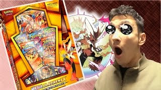 SPETTACOLARE Mega Blaziken Ex Premium Collection + EXTRA