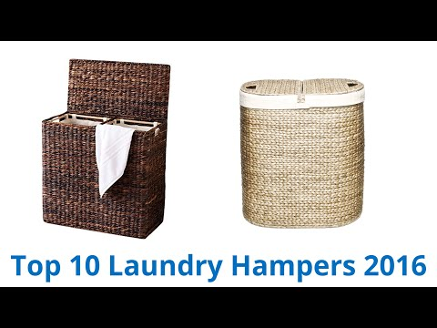 10 Best Laundry Hampers 2016