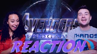 Avengers: Endgame Trailer Reaction and... THEORY?!