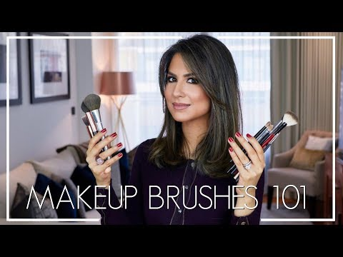 MAKEUP BRUSHES GUIDE   My Favourite Brushes & How To Use Them   JASMINA PURI