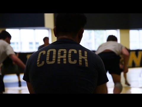 Maryland National Wrestling Team- USNA camp part one