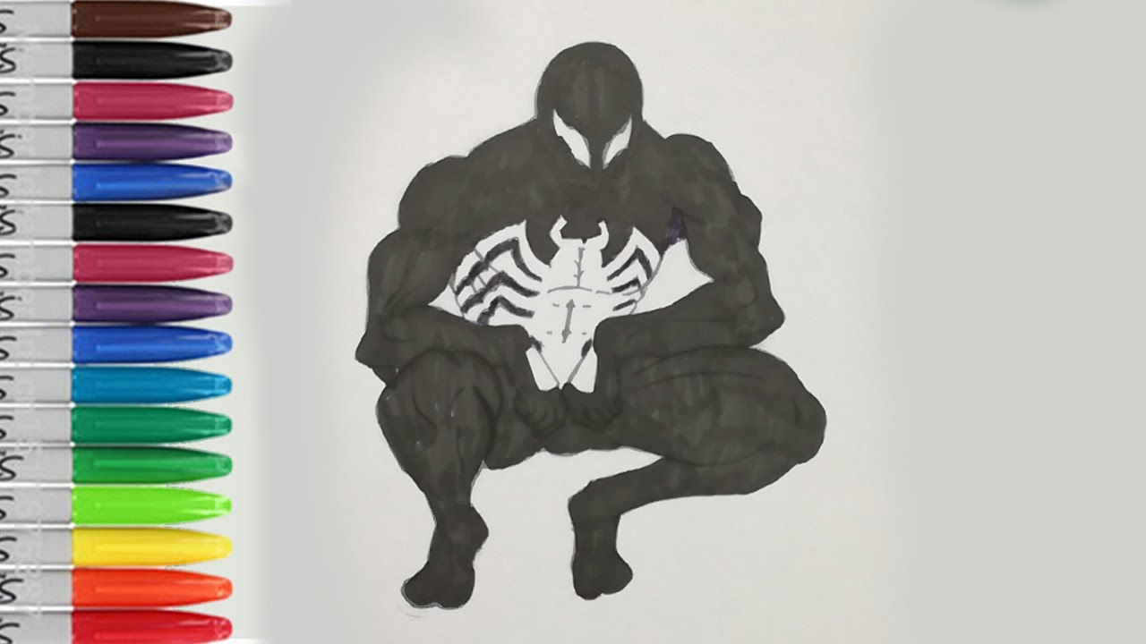 spiderman coloring pages spiderman symbiot in ultimate spiderman