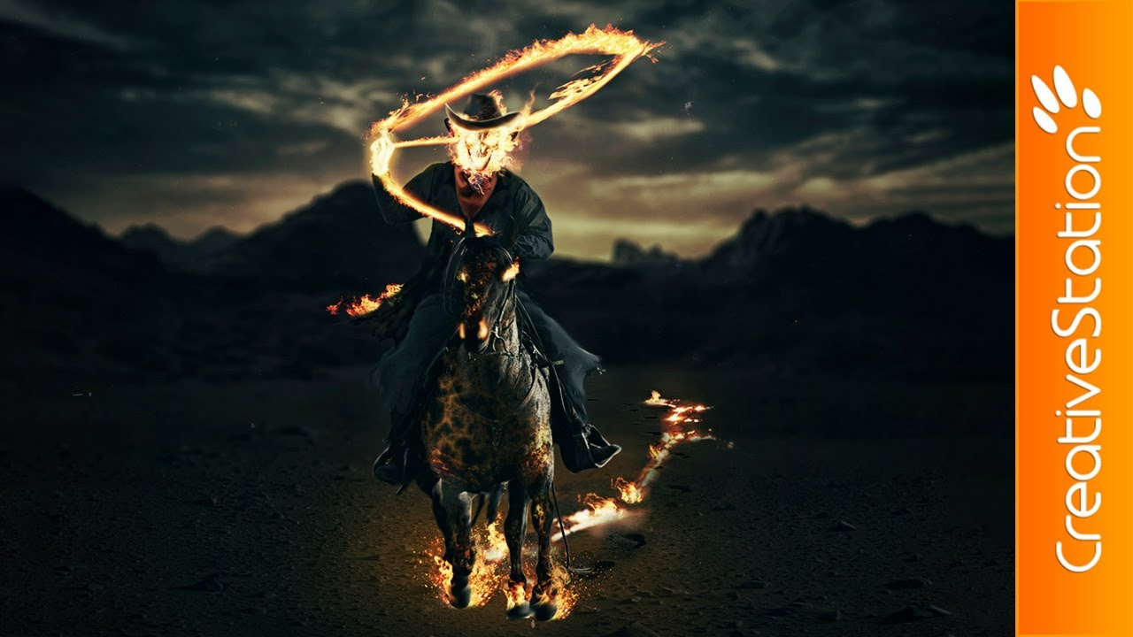 Concept art for Ghost Rider: Spirit of Vengeance ...  |Ghost Rider Digital Painting Photoshop