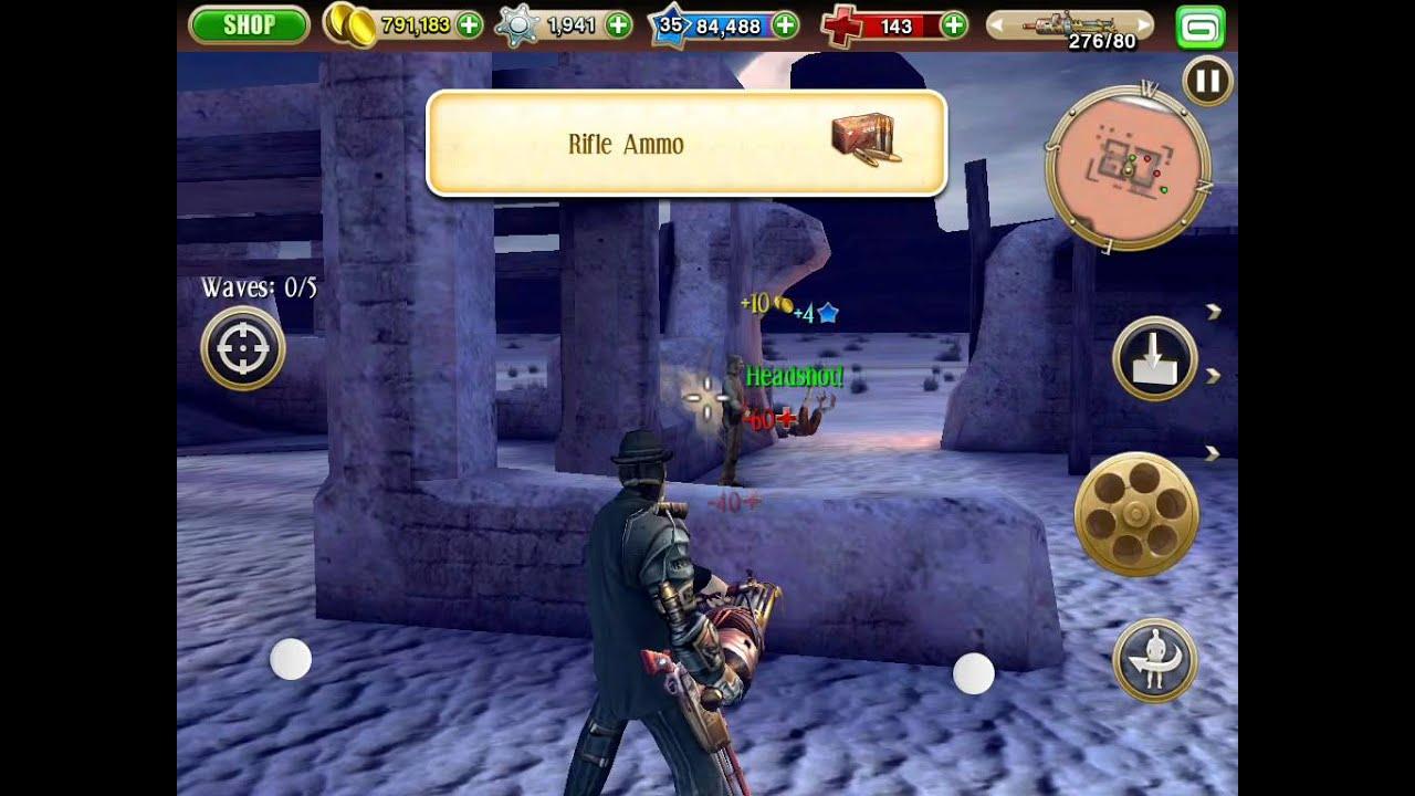 Six Guns Game Play Youtube