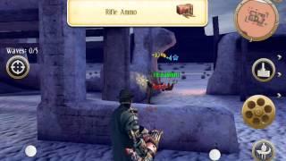 Six Guns game play