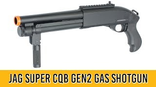 Jag Arms Super CQB Gen 2 Scattergun Gas Shotgun Airsoft Review