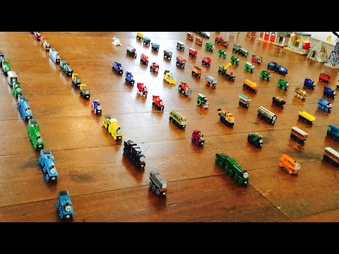Modelling Railway Train Layouts -Thomas Wooden Railway Collection [1] Plus Ertl & Bachmann ✔