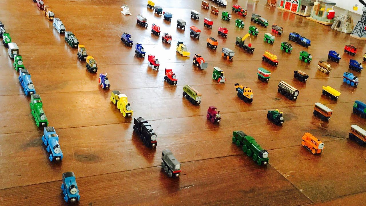 Thomas Wooden Railway Collection 1 Plus Ertl Bachmann