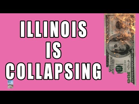 Illinois Completely COLLAPSING as Pension Fund CRASHING & Needs BAILOUT!