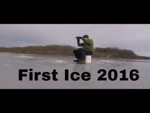 First Ice 2016, How to Find Fish Without Electronics