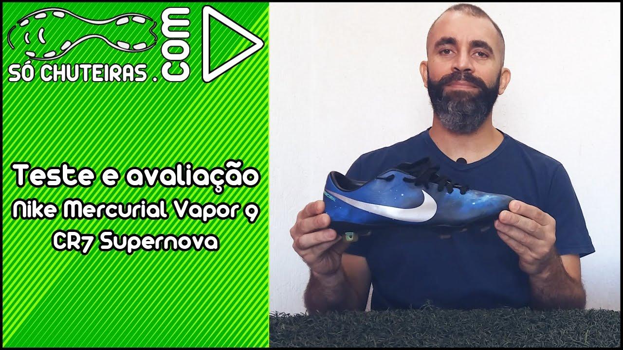 Teste e avaliação - Chuteira Nike Mercurial Vapor 9 CR7