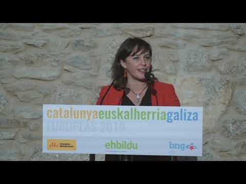 Intervención de Ana Miranda na presentación da candidatura das Europeas
