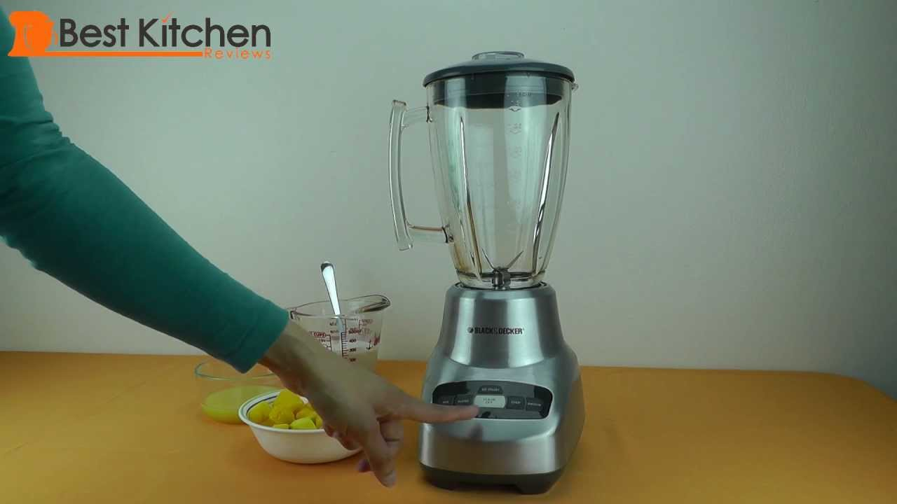 Black and Decker Blender Review 4-Speed Die-Cast - YouTube