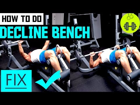 How to do Decline bench Press Correctly | Chest Exercise | Do It Yourself