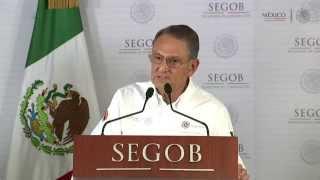 Conferencia de Prensa SEGOB