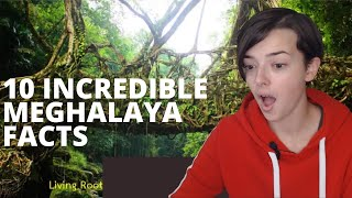 10 INCREDIBLE MEGHALAYA FACTS | REACTION!