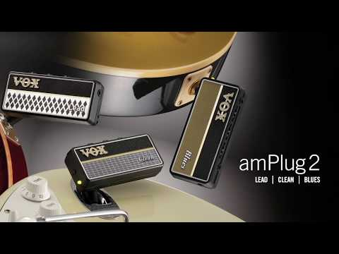 Three new additions to the VOX amPlug 2 family – Clean, Blues & Lead
