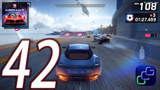 ASPHALT 9 Legend Android iOS Walkthrough - Part 42 - Career Chapter 2: American Most Wanted