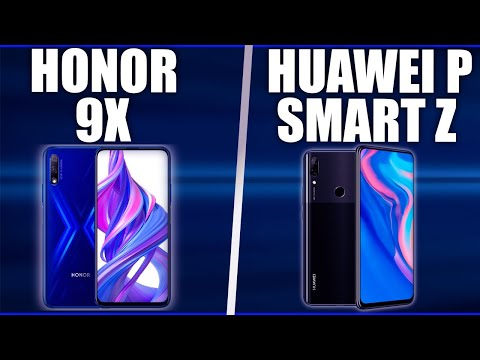 Honor 9X Vs Huawei P Smart Z. Comparison!☑️