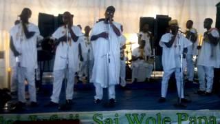 Asiwaju Wole Papa live @ yaba Lagos